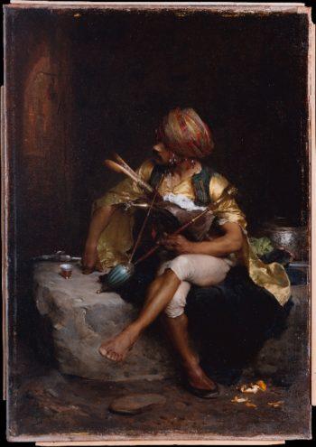 A Bashi-Bazouk (1875) | Charles Bargue | oil painting