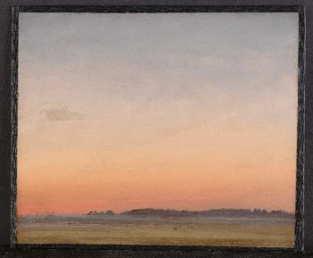 Landscape (ca 1835-45) | Circle of Carl Rottmann | oil painting