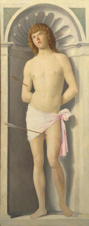 Saint Sebastian   Giovanni Battista Cima da Conegliano   oil painting