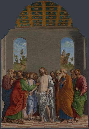The Incredulity of Saint Thomas   Giovanni Battista Cima da Conegliano   oil painting