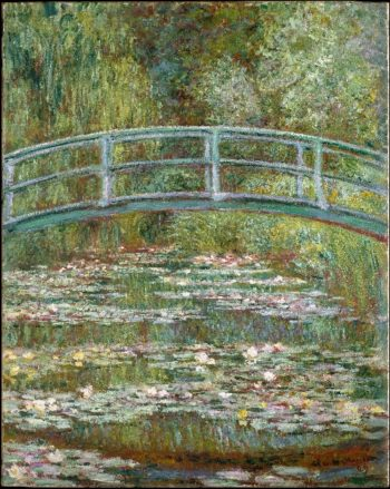 Bridge over a Pond of Water Lilies (1899) | Claude Monet | oil painting