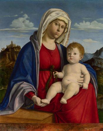 The Virgin and Child (1)   Giovanni Battista Cima da Conegliano   oil painting