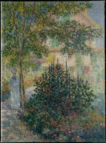 Camille Monet in the Garden at Argenteuil (1876) | Claude Monet | oil painting