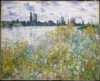 Ile aux Fleurs near Vetheuil (1880) | Claude Monet | oil painting