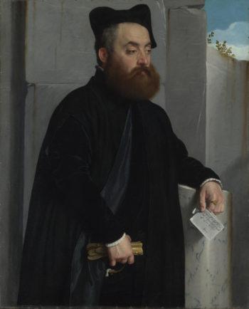 Canon Ludovico di Terzi | Giovanni Battista Moroni | oil painting