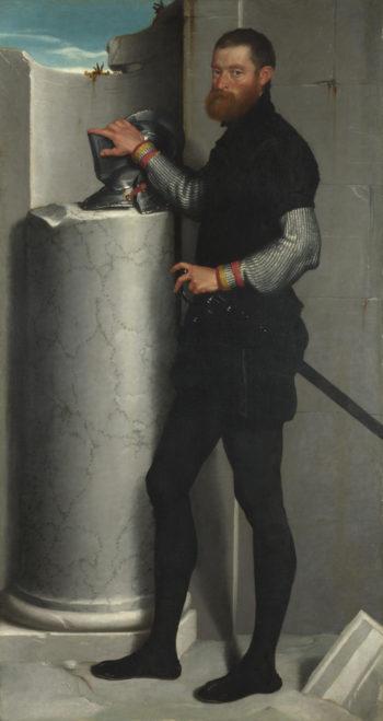 Portrait of a Gentleman | Giovanni Battista Moroni | oil painting