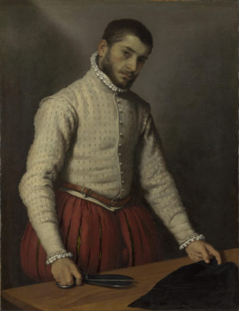 The Tailor (Il Tagliapanni) | Giovanni Battista Moroni | oil painting