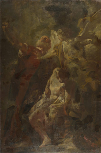 The Sacrifice of Isaac | Giovanni Battista Piazzetta | oil painting