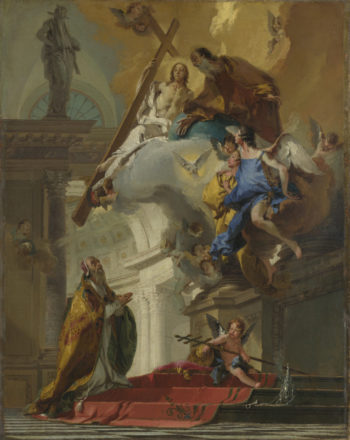 A Vision of the Trinity | Giovanni Battista Tiepolo | oil painting