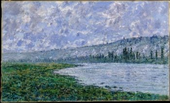 The Seine at Vetheuil (1880) | Claude Monet | oil painting
