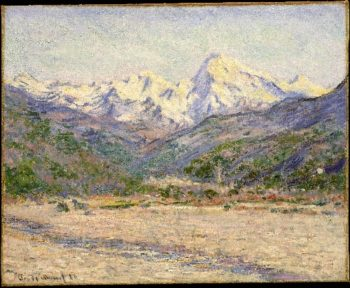 The Valley of the Nervia (1884) | Claude Monet | oil painting