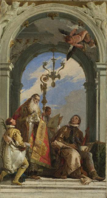 Saints Maximus and Oswald | Giovanni Battista Tiepolo | oil painting