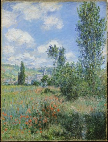 View of Vetheuil (1880) | Claude Monet | oil painting