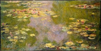 Water Lilies (1919) | Claude Monet | oil painting