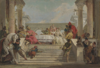The Banquet of Cleopatra | Giovanni Battista Tiepolo | oil painting