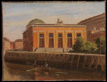 Thorvaldens Museum Copenhagen (1858) | Constantin Hansen | oil painting