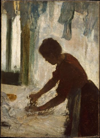 A Woman Ironing (1873) | Edgar Degas | oil painting