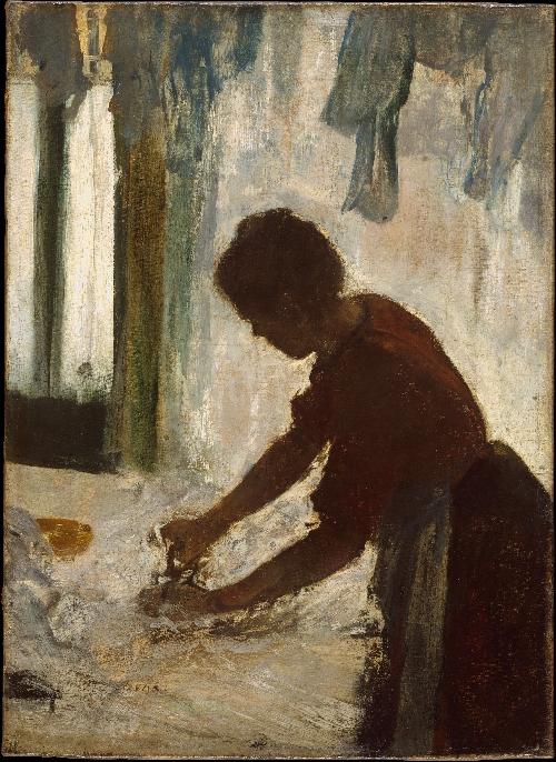 A Woman Ironing (1873) | Edgar Degas | oil painting