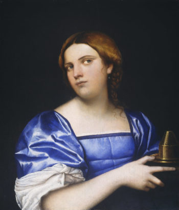 Portrait of a Young Woman as a Wise Virgin
