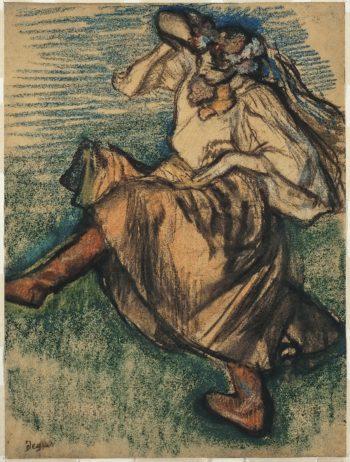 Russian Dancer (1899) | Edgar Degas | oil painting