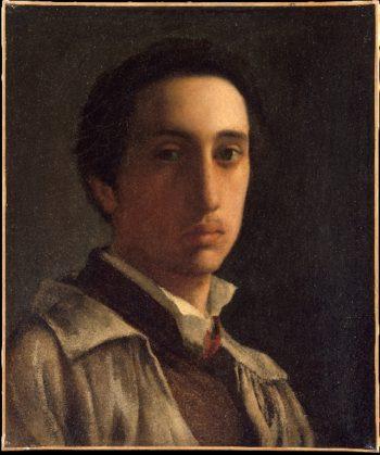 Self-Portrait (ca 1855-86) | Edgar Degas | oil painting