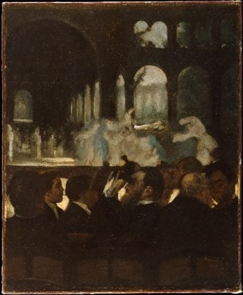 The Ballet from Robert le Diable (1871) | Edgar Degas | oil painting