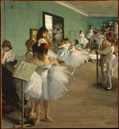 The Dance Class (1874) | Edgar Degas | oil painting