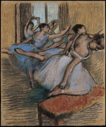 The Dancers | Edgar Degas | oil painting