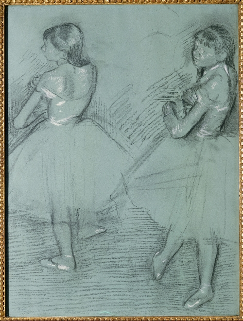 Two Dancers (ca 1879) | Edgar Degas | oil painting