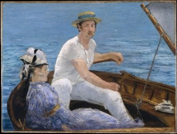 Boating (1874) | Edouard Manet | oil painting