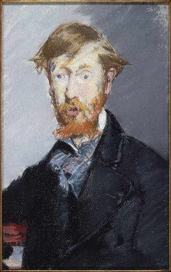 George Moore (1873-79) | Edouard Manet | oil painting
