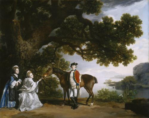 Captain Samuel Sharpe Pocklington with His Wife