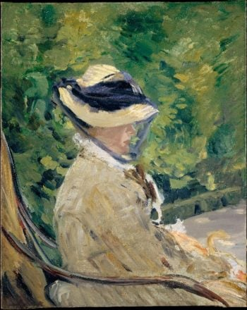 Madame Manet at Bellevue (1880) | Edouard Manet | oil painting