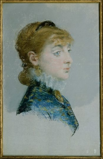 Mademoiselle Lucie Delabigne (1879) | Edouard Manet | oil painting