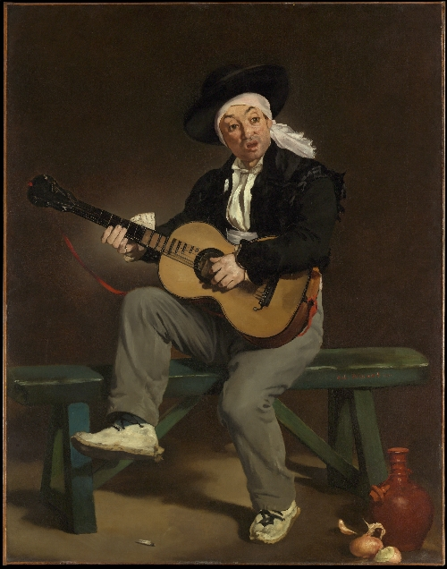 The Spanish Singer (1860) | Edouard Manet | oil painting