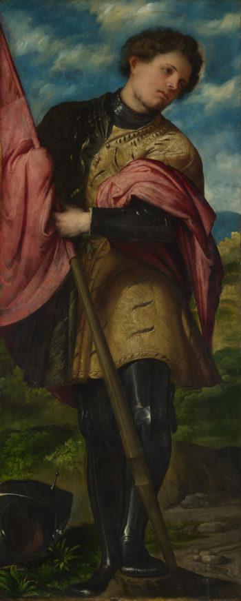 Saint Alexander | Girolamo Romanino | oil painting
