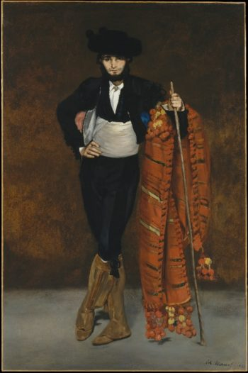 Young Man in the Costume of a Majo (1863) | Edouard Manet | oil painting