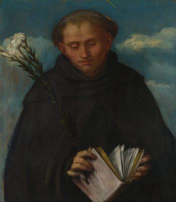 Saint Filippo Benizzi | Girolamo Romanino | oil painting