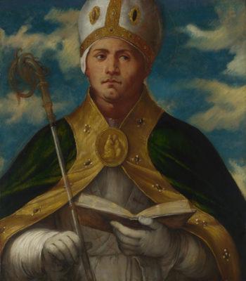 Saint Gaudioso | Girolamo Romanino | oil painting