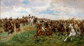 1807 Friedland (ca 1861-75) | Ernest Meissonier | oil painting