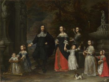 A Family Group | Gonzales Coques | oil painting