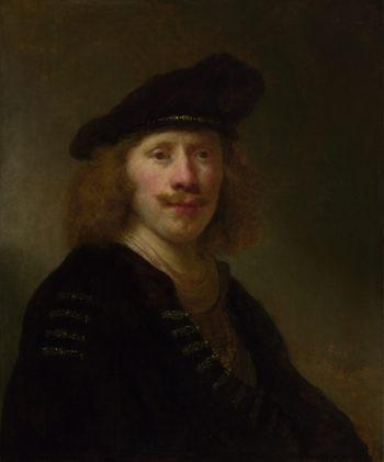 Self Portrait aged 24 | Govert Flinck | oil painting