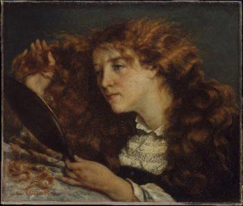 Jo La Belle Irlandaise (1865-66) | Gustave Courbet | oil painting