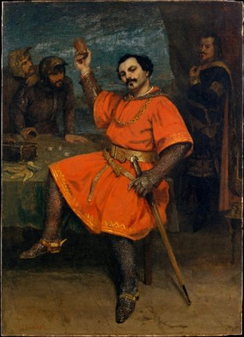 Louis Gueymard as Robert le Diable (1857) | Gustave Courbet | oil painting