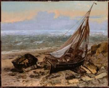 The Fishing Boat (1865) | Gustave Courbet | oil painting