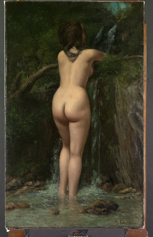 The Source (1862)   Gustave Courbet   oil painting