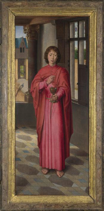 Saint John the Evangelist (1)   Hans Memling   oil painting