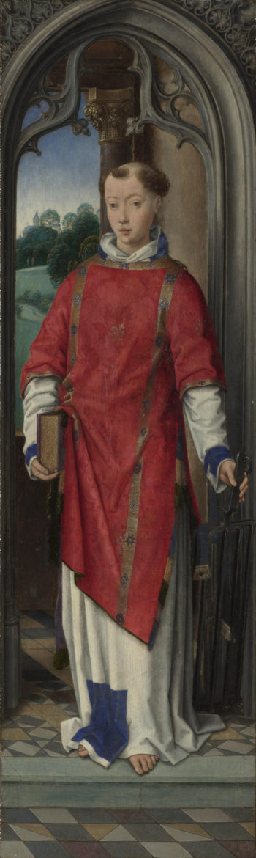 Saint Lawrence   Hans Memling   oil painting