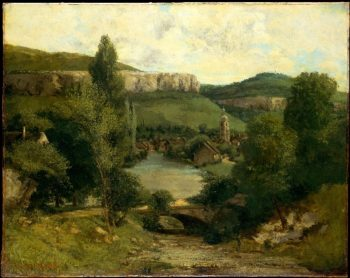View of Ornans (prob mid-1850s) | Gustave Courbet | oil painting