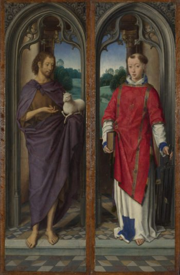 Two Panels from a Triptych | Hans Memling | oil painting
